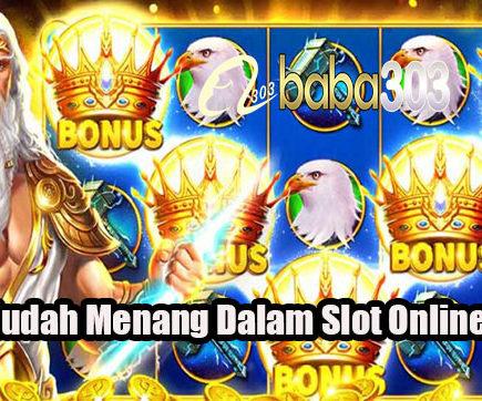 Cara Mudah Menang Dalam Slot Online Resmi